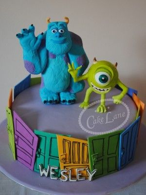 mike monsters inc fondant - Google Search