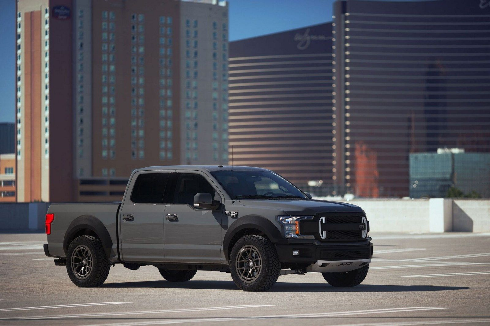 Ford F 150 Rtr Muscle Truck Concept Unveiled With 600 Hp Muscle Truck Ford F150 Rtr