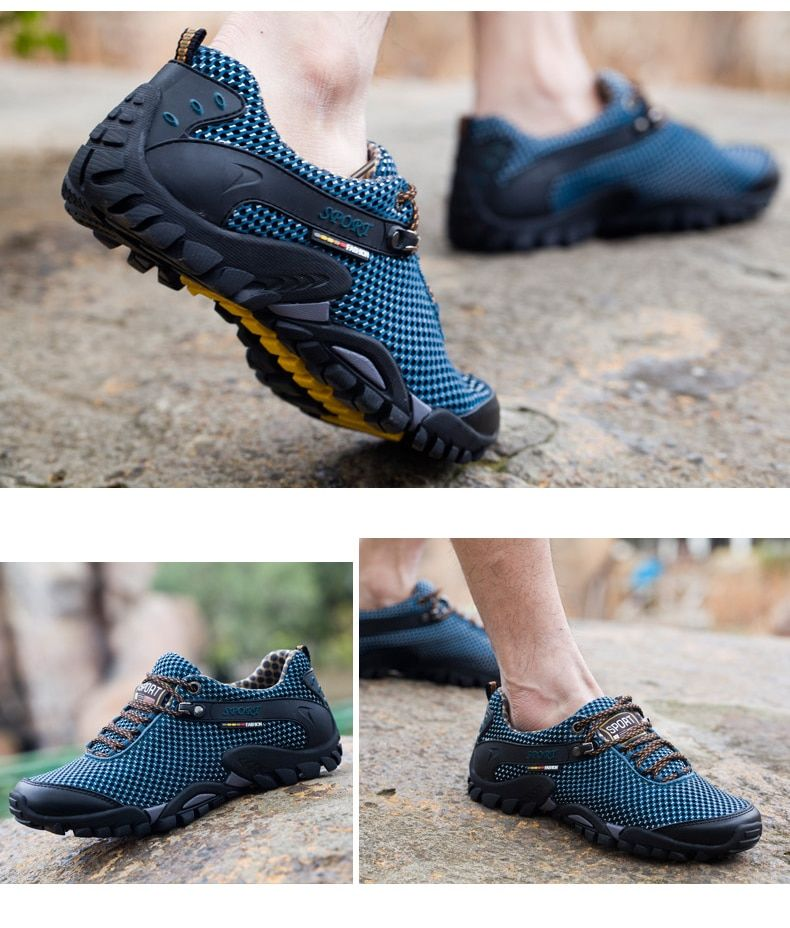 2017 Outdoor Sport Shoes men Sneakers men shoes Running Shoes for men Brand Antiskid Offroad Jogging Walking Trainers HG71 is part of Sport shoes men -