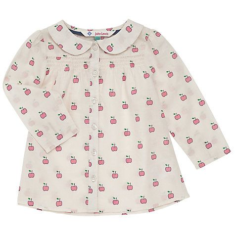 John Lewis: this little apple pullover is the perfect choice of outfit for the end of summer.