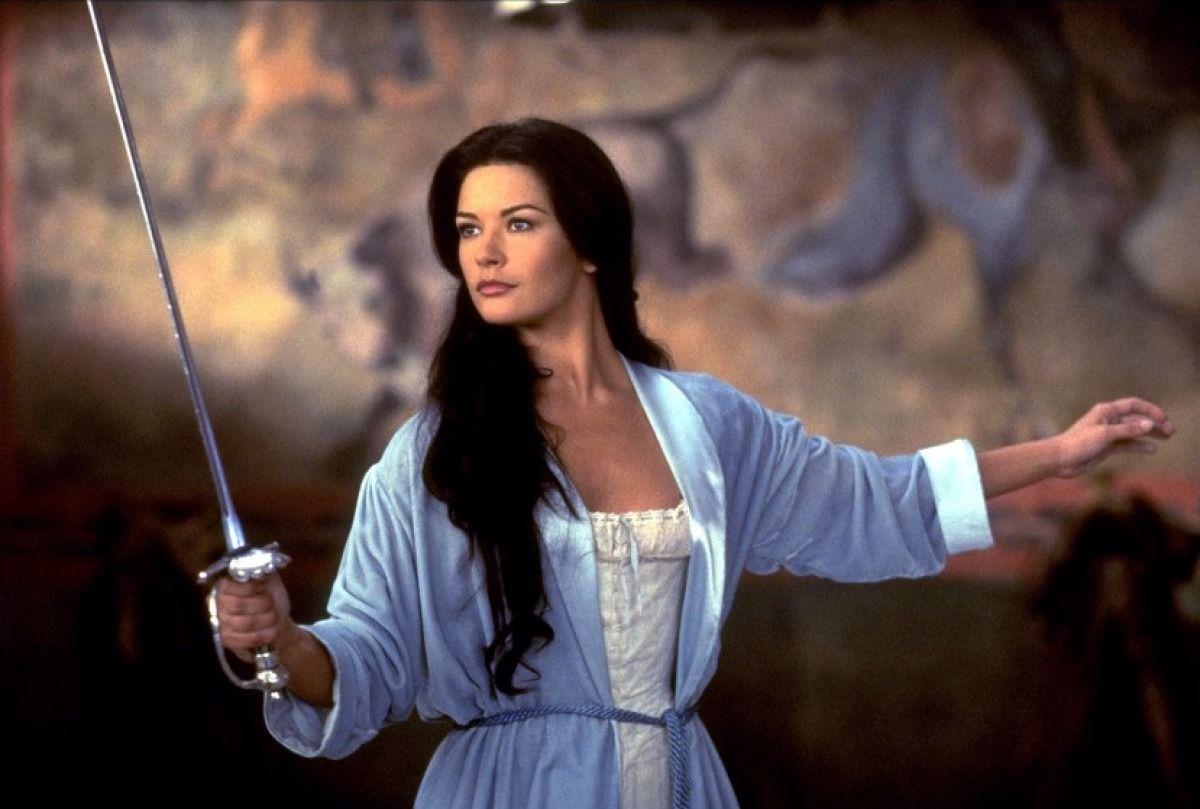 mask hiroin nude Catherine Zeta Jones - The Mask of Zorro