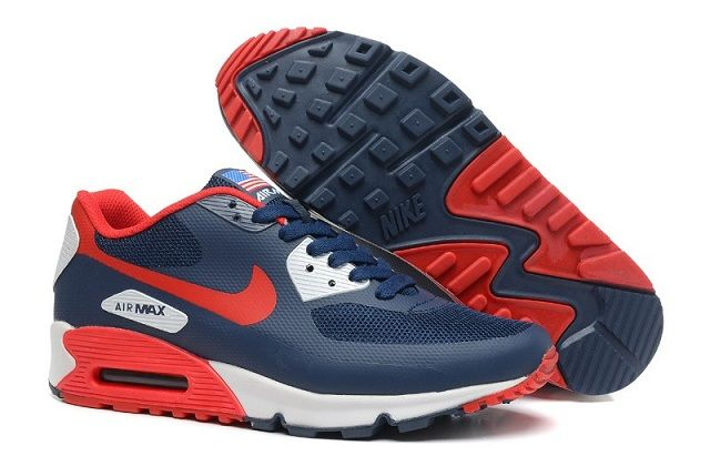 333 Nike Air Max 90 Hyperfuse Independence Day Bleu Rouge Homme Pas Cher  what is shop