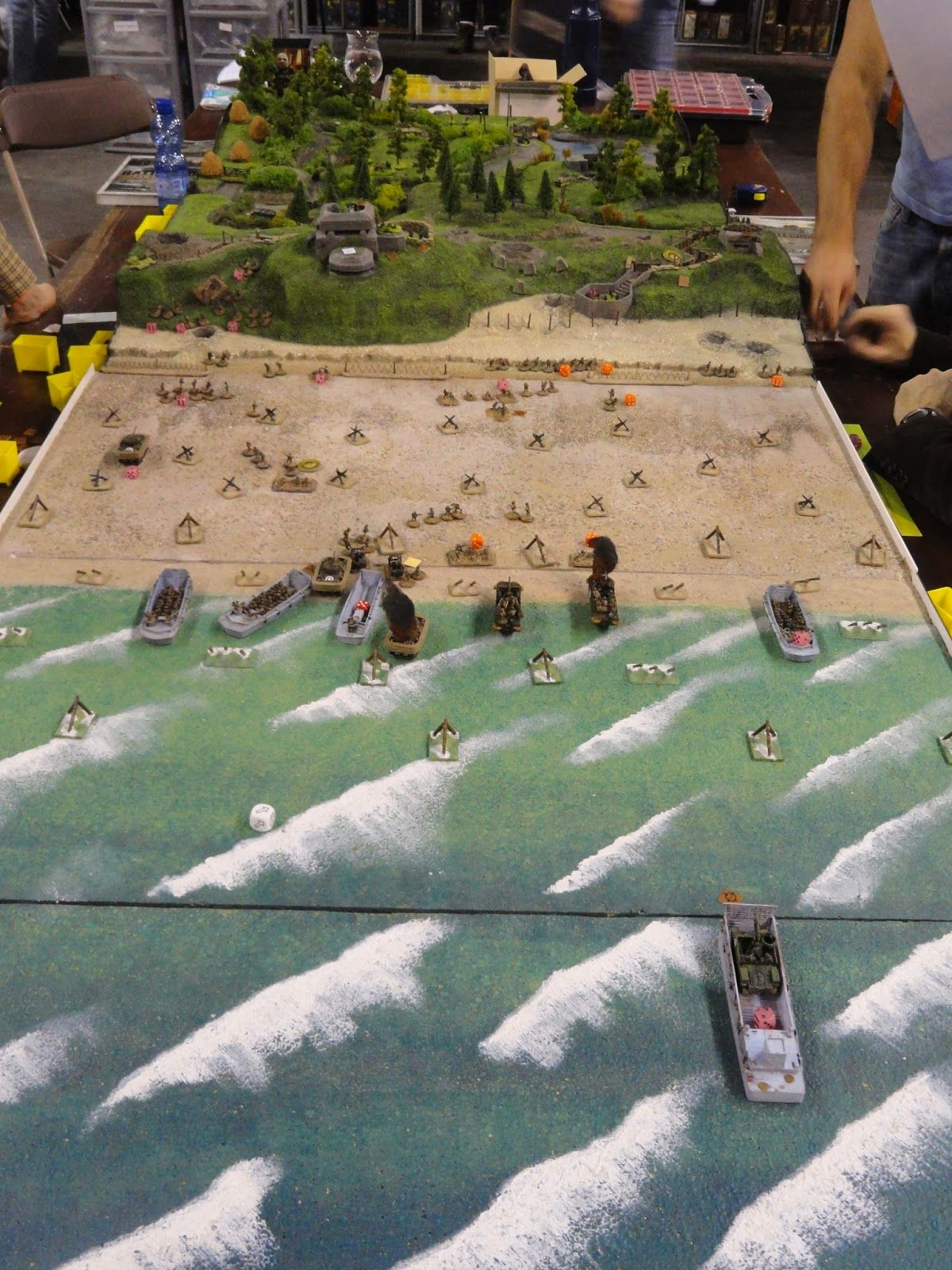 15mm World War Two Normandy Landing game not sure but