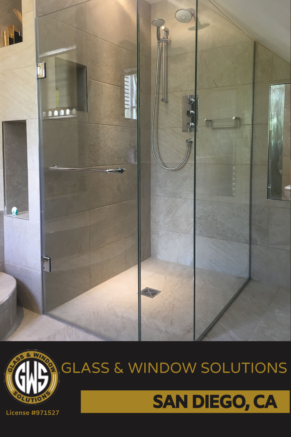Add An Aesthetic Appeal To Your Bathroom With Our Frameless Shower