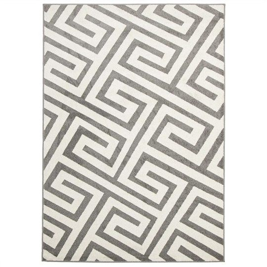 Dolce Egyptian Made Indoor Outdoor Rug In Grey From Culture 230x160cm 255