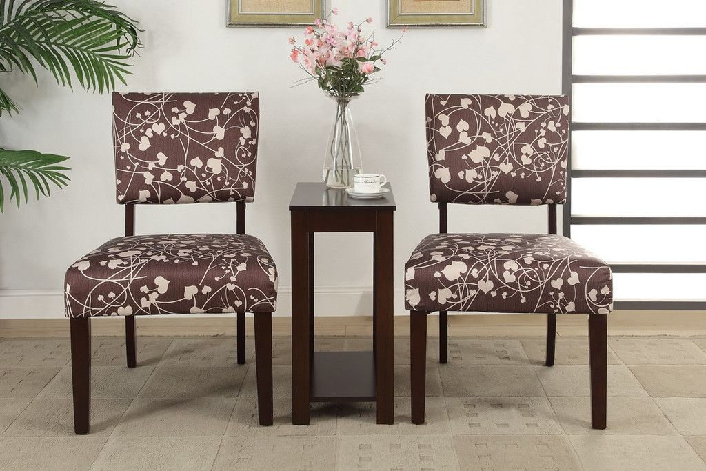 On Sale $275.00 3PCS Accent Chair/Chair Side Tables