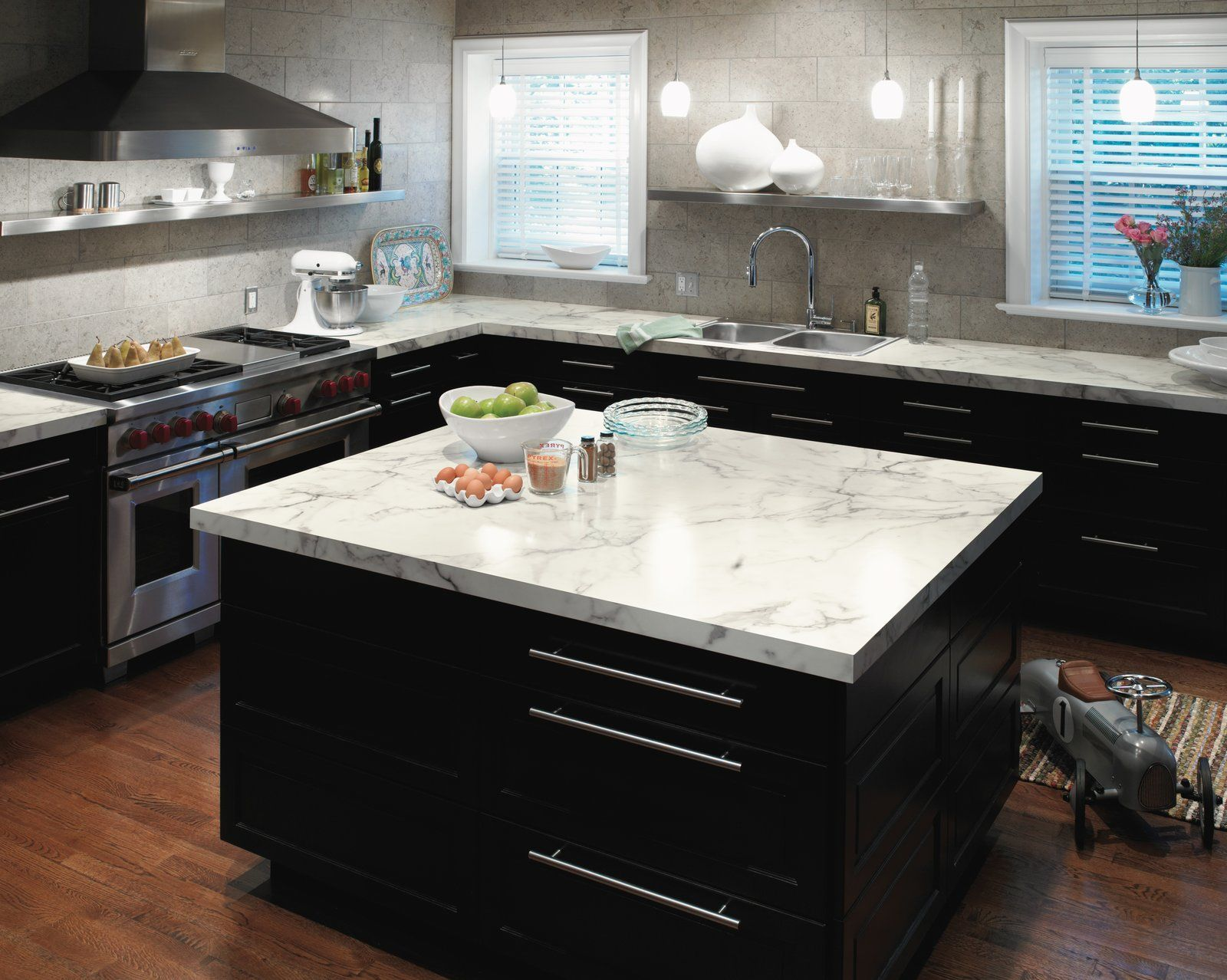 Photo 10 Of 10 In 6 Marble Alternatives For Your Kitchen Worktops