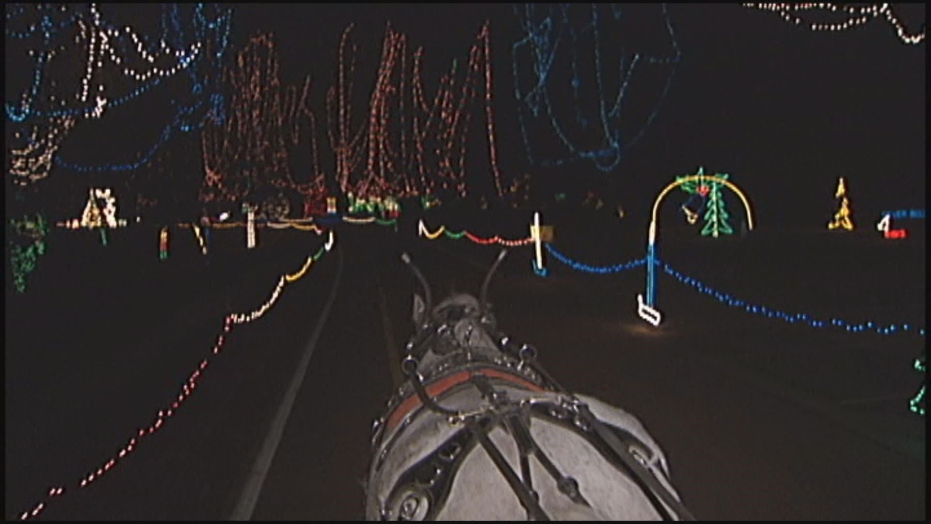 Winter Wonderland Carriage Rides Merry Ho St Louis