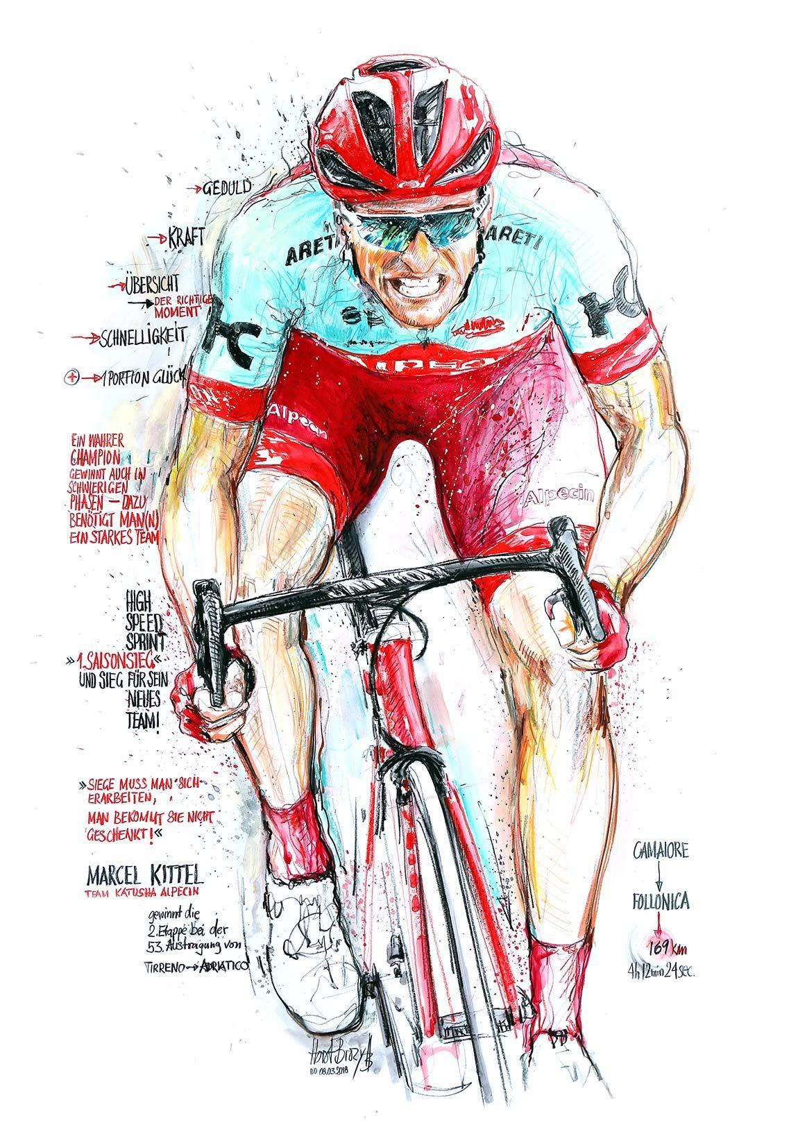 Marcel Kittel Team Katusha Alpecin Gewinnt Die 2 Etappe Bei Der