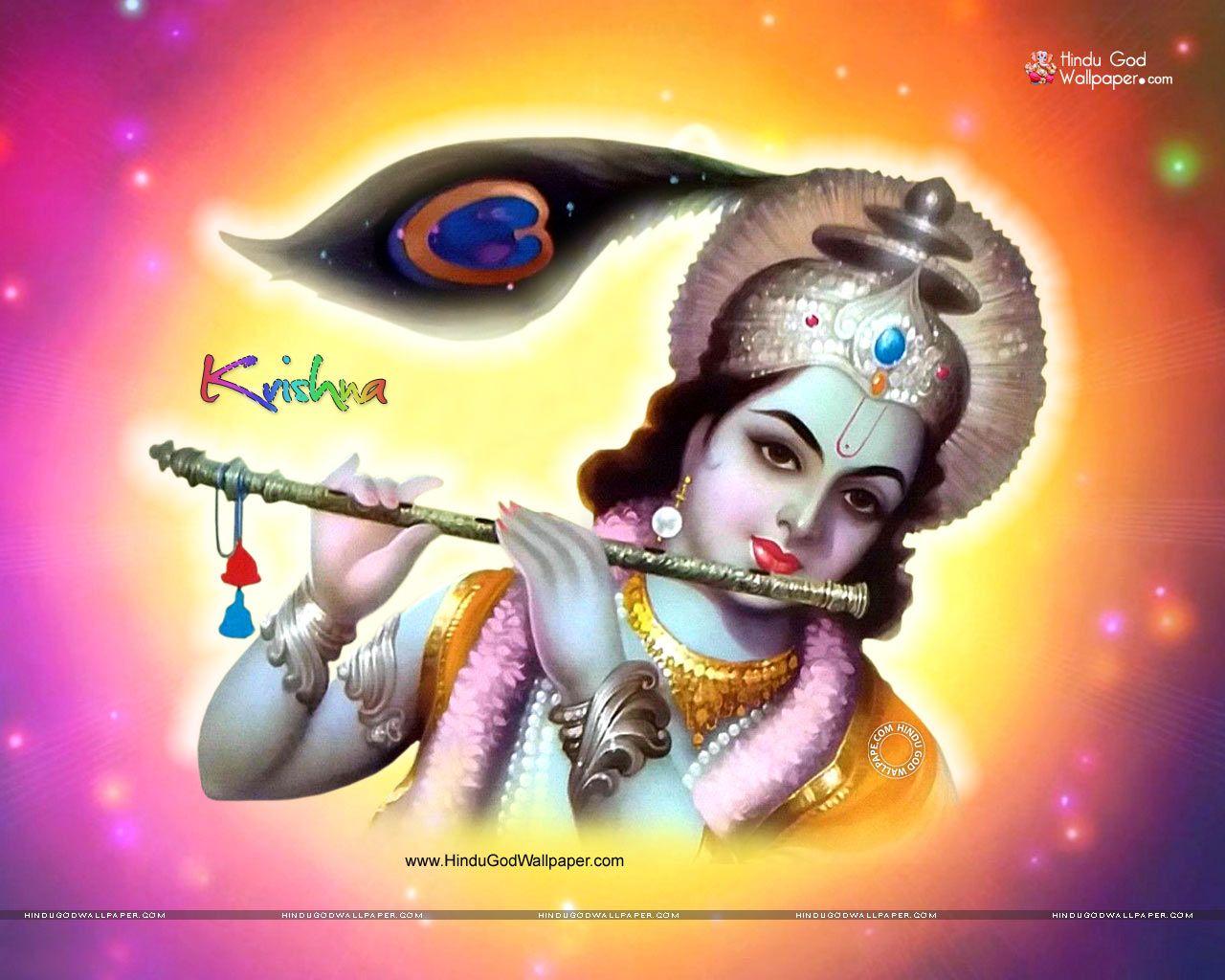 Hd wallpaper krishna download - Lord Krishna Wallpapers 1280x1024