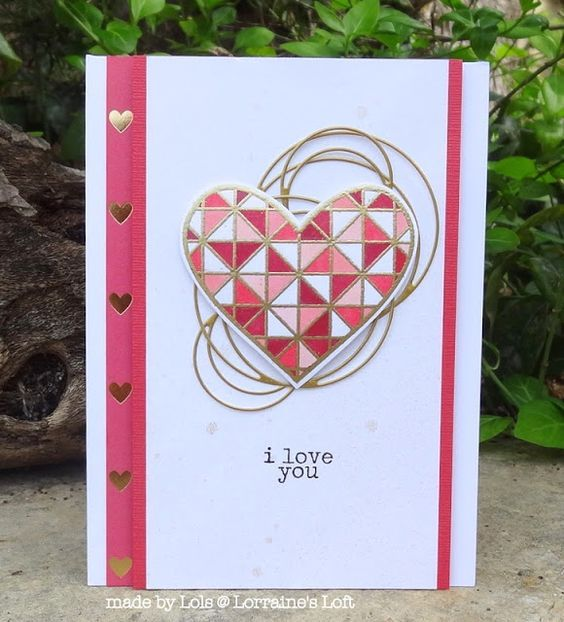 Technique Use Misti Tool Stamp Heart W Memento Color Section