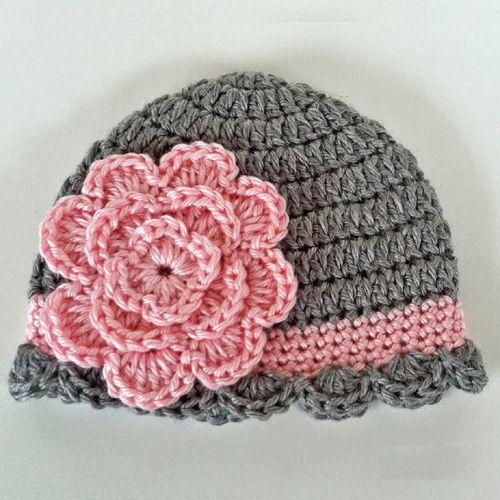 Pretty Baby Beanie - Free Pattern (Crochet For Children) | Gorros ...