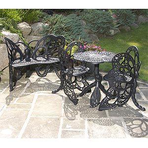 Butterfly Bistro Set Outdoor Bistro Set 400 x 300