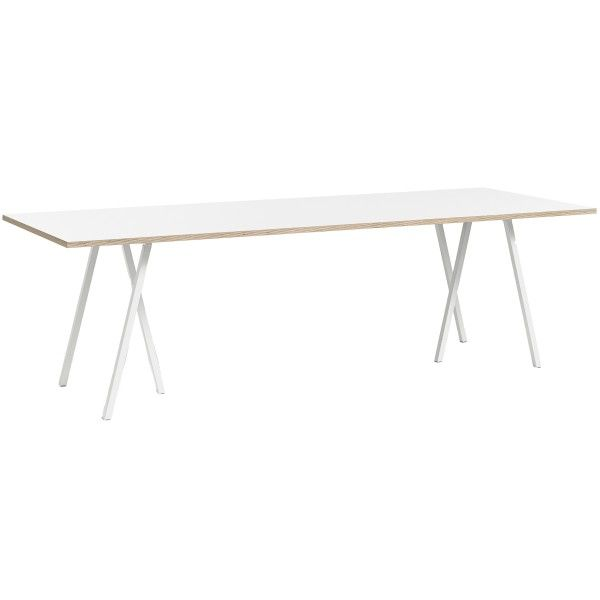 Hay Loop Stand Table wit 250x93 | FLINDERS verzendt gratis
