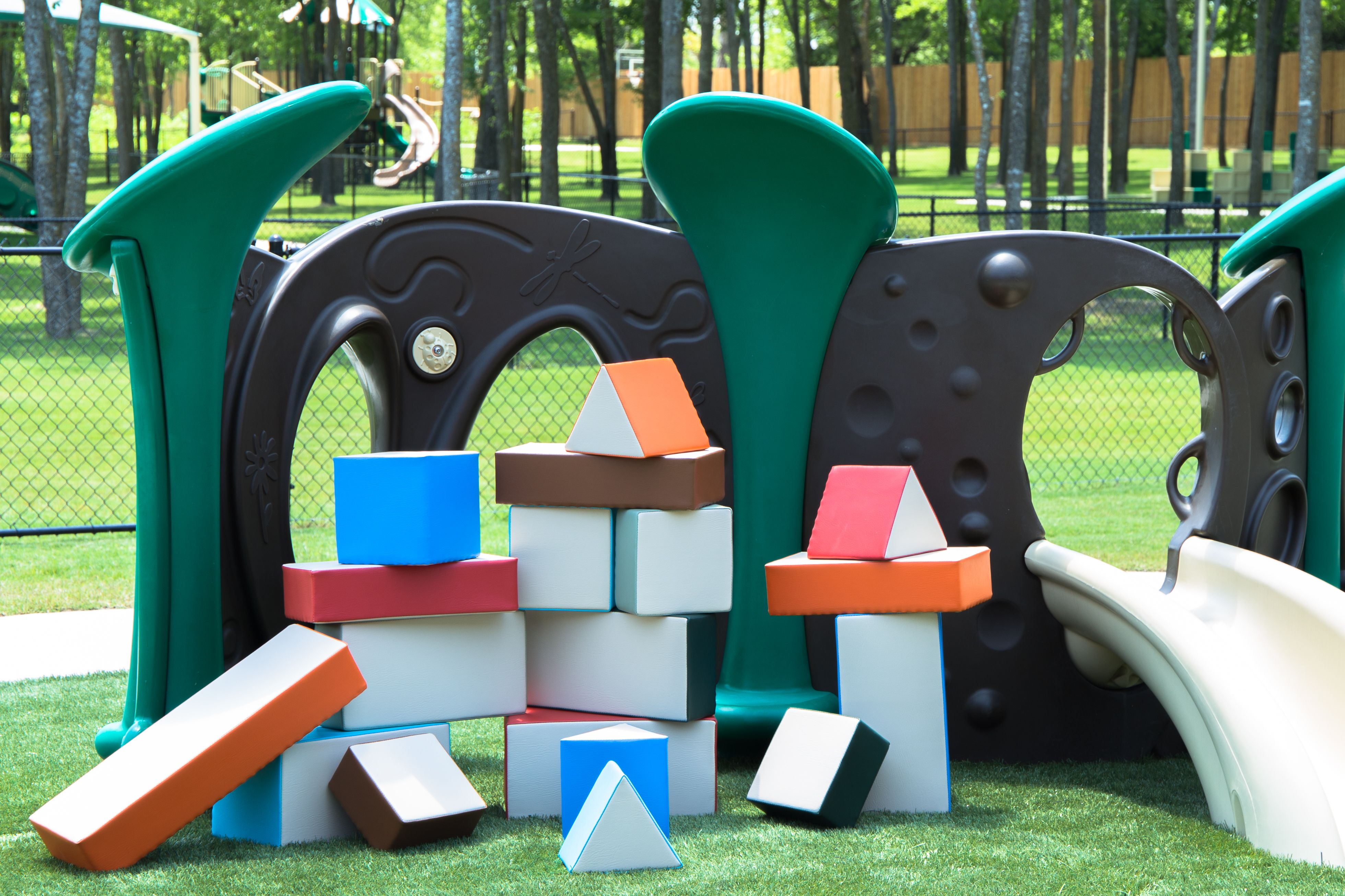 Outdoor Building Blocks Set of 18 SafeSpace Concepts