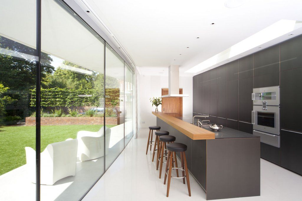 Narrow But Long Kitchen Extension Idea House Extension