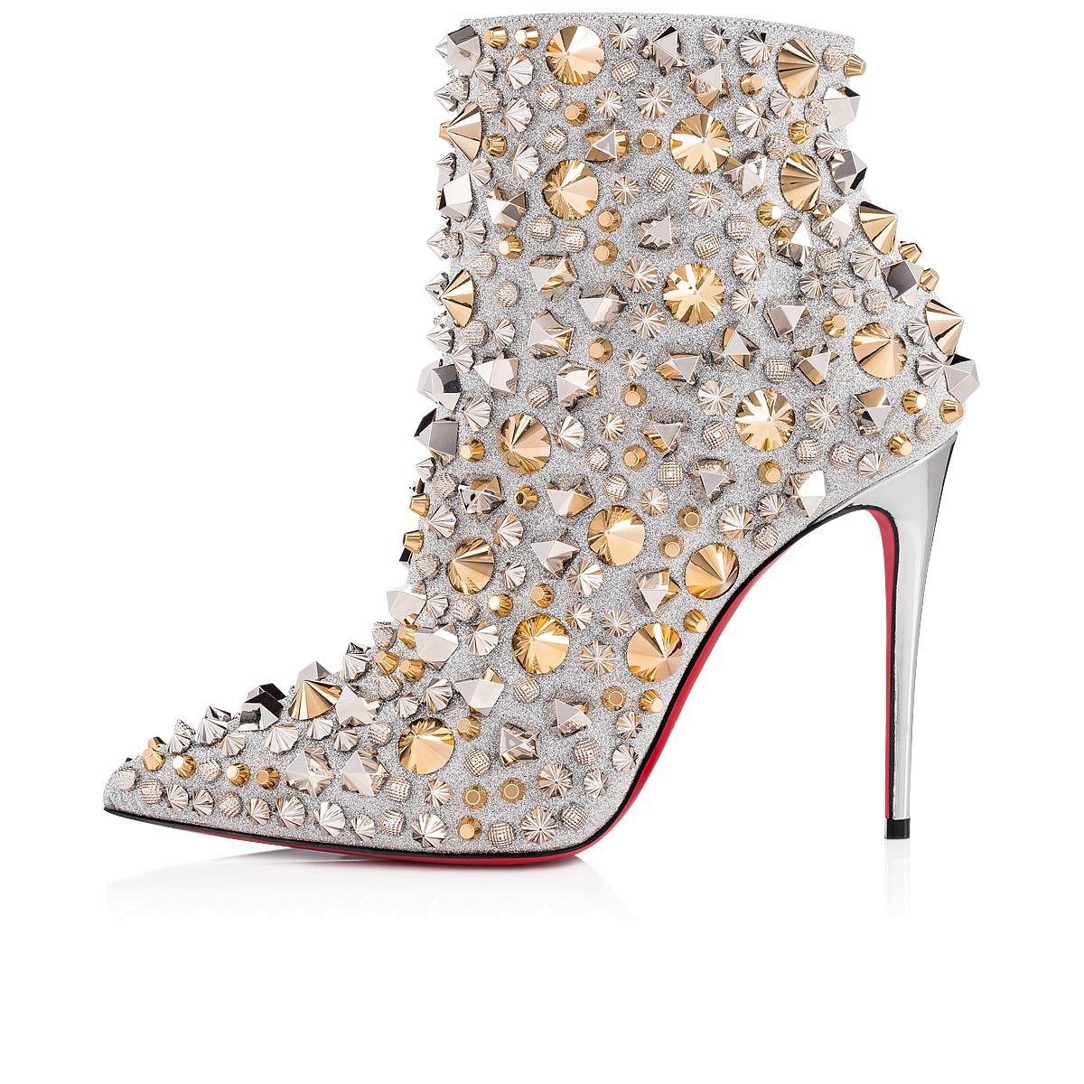 f25692ee4845 So Full Kate 100 Silver/Multi Calf Glitter - Women Shoes - Christian  Louboutin