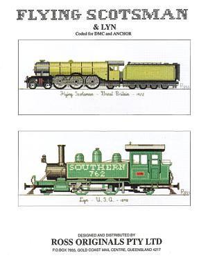 Flying Scotsman & Lyn. - Graeme Ross Designs