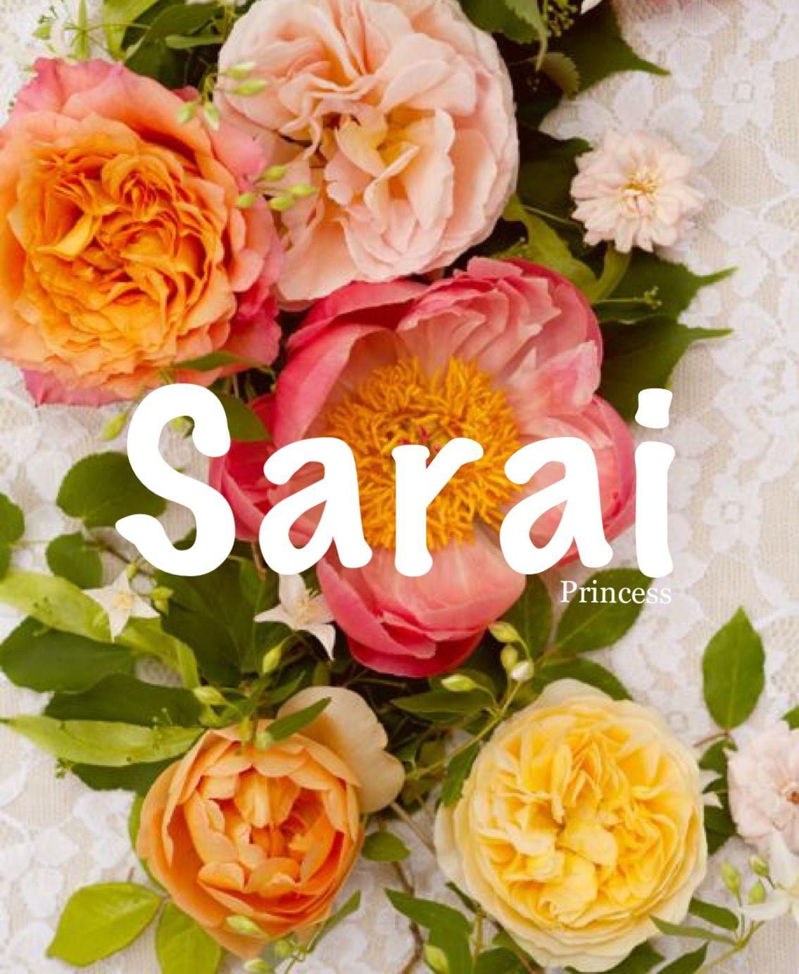 Sarai Princess Biblical Names Unique Baby Girl