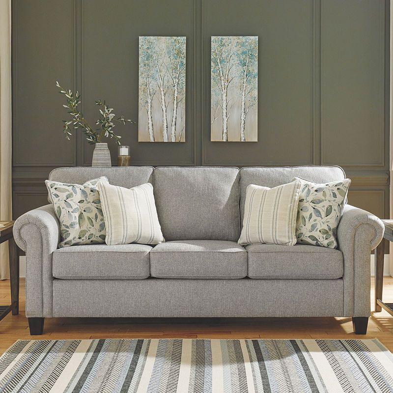 Best Signature Design By Ashley Alandari Roll Arm Sofa 400 x 300