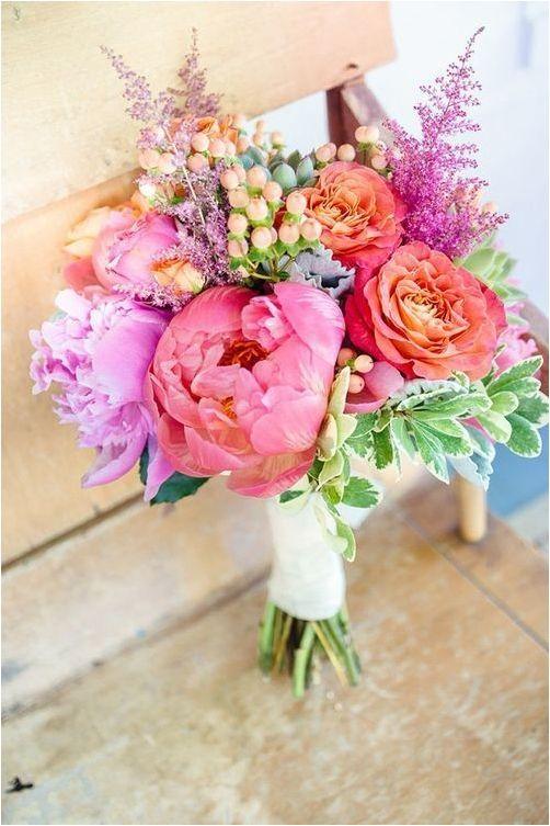 Colorful Summer Wedding Bouquets Ideas Pinterest Summer Wedding