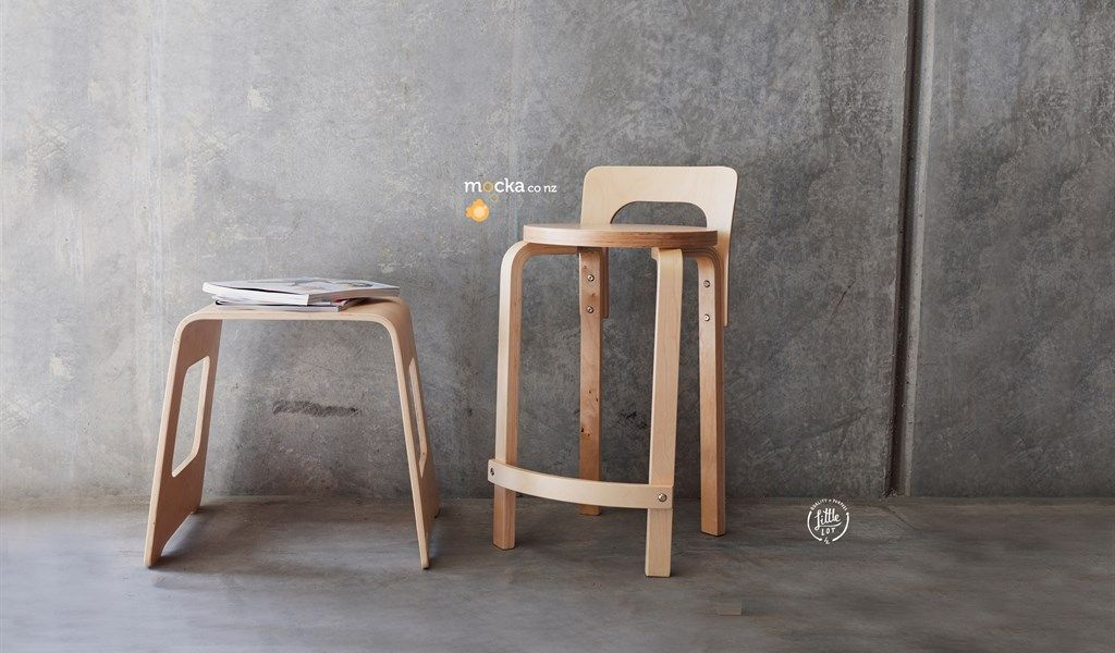 Excellent Little Lot Hudson Wooden Stool From Mocka Co Nz Gmtry Best Dining Table And Chair Ideas Images Gmtryco