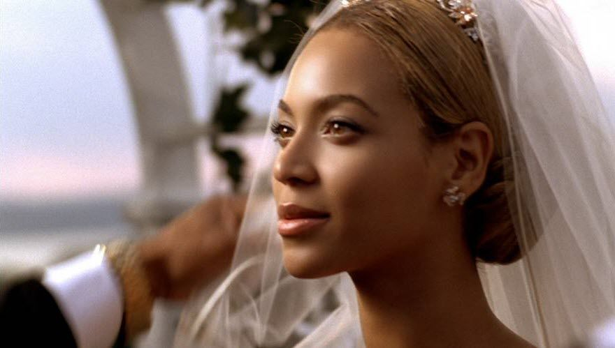 Beyonce Wedding Scene On Music Video Weddingwig
