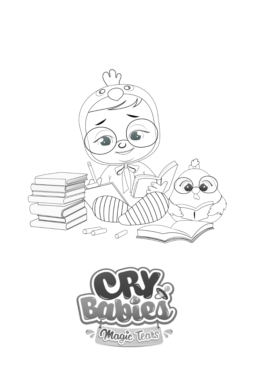 Colorions Cry Babies Magic Tears En 2020 Cry Baby Bisounours Coloriage