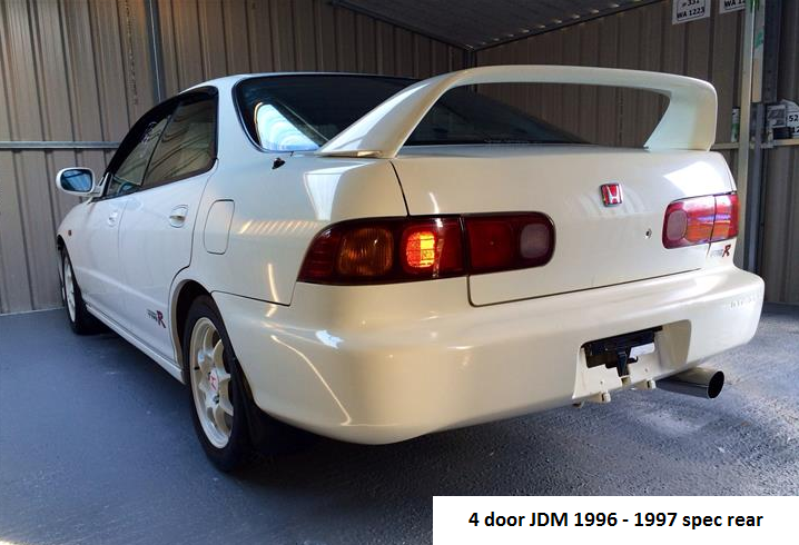 Gentil Vehicle · Honda Integra Type R ...