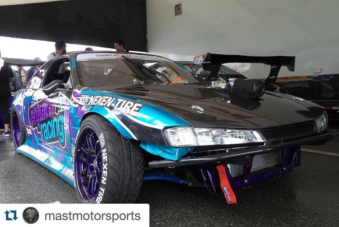 #Repost @mastmotorsports with @repostapp. Another #MastMotorsports equipped ride competing in the top 32 tomorrow at @formulad Long Beach.  This one has Mast Black Label heads and a #MagnusonSupercharger! #getnutzwear #lsnation #lseverything #lsxnation #formuladrift #formulad ##magnusonsuperchargers #TVS2300 #eaton by david_at_magnusonsuperchargers