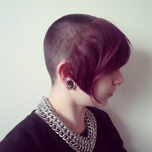Pin On Chelsea Skingirl Skinbyrd Haircuts 04