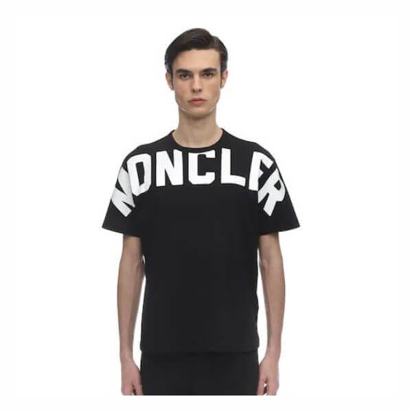 MONCLER モンクレール Tシャツ スーパーコピー☆ロゴ付き コットン 0918C704108390T|ブランドコピー通販