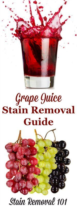 How To Remove Grape Juice Stains Grape Juice Cleaning