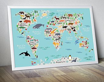 Nursery world map nursery map map for kids world map for kids kids nursery world map nursery map map for kids world map for kids kids wall art kids gumiabroncs Images