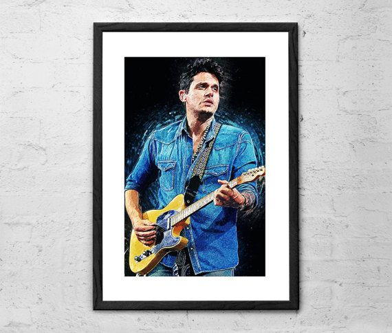 John Mayer 11x14 John Mayer Poster John Mayer Fine Arts Posters