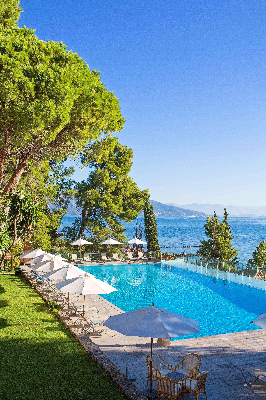 Griechenland Urlaub Korfu Urlaub Kontokali Bay Hotel Pool