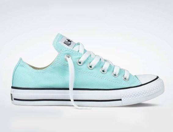 mint green converse | Tiffany blue