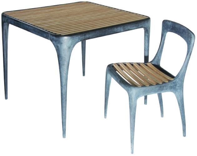 Cast Aluminium Furniture Series One Design By REEVESdesign « Furniii