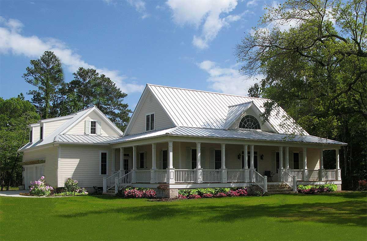 Plan 32585WP: Southern Sweetheart With Wraparound | Wraparound ...
