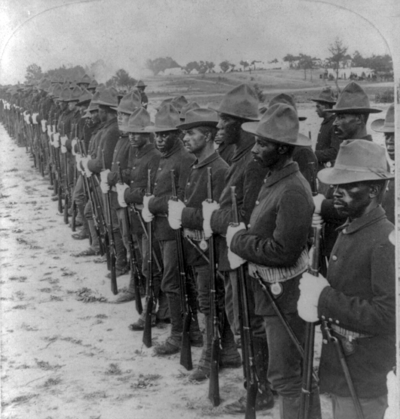 Black Sol Rs In Spanish American War History