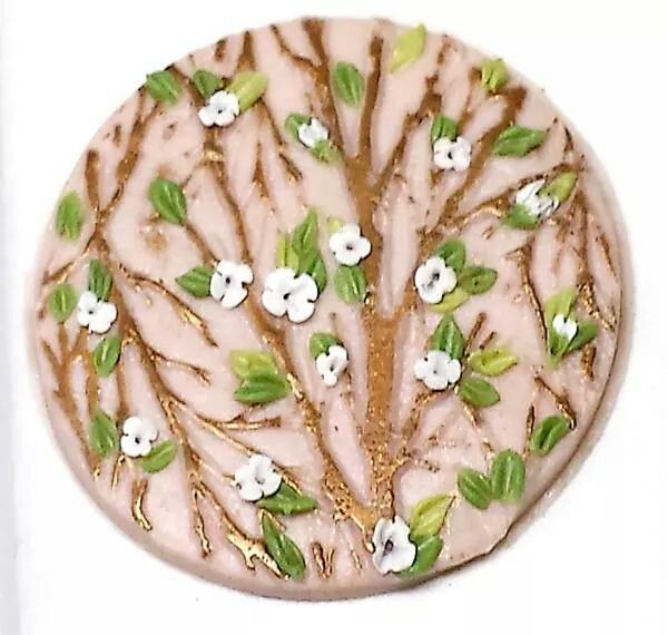 Use mica powders for twigs