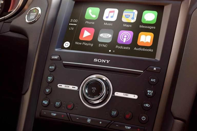 Sync 3 Voice Activated Technology Featuring Apple Carplay Comes