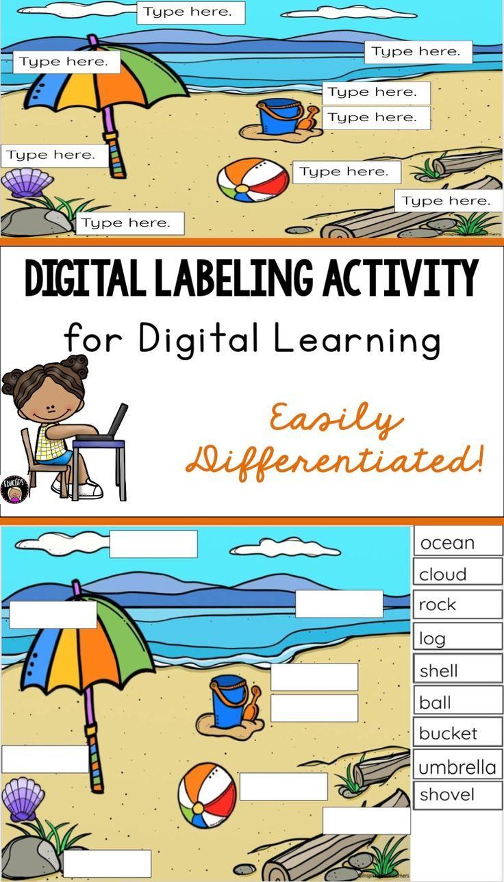 Digital labeling activity distance learninggoogle