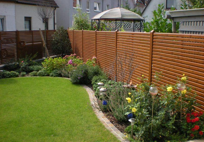 45 effekvolle Ideen für Gartensichtschutz