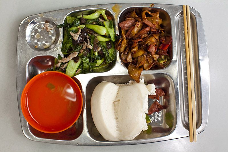 School Lunch China Malaysia Aesthetic Food Lunch Amazing Food