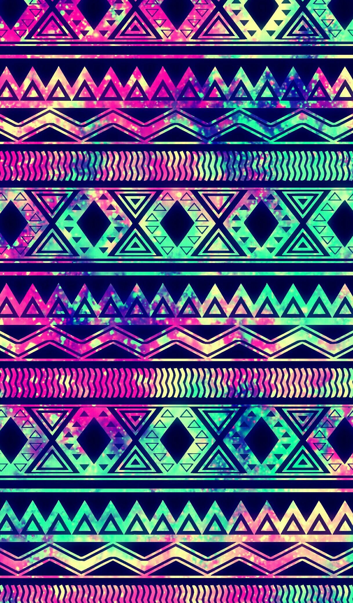 Tribal Galaxy Wallpaper I Created For The App Cocoppa Backgrounds Jpg 1217x2075 Aztec