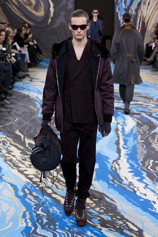 Look n°20 from the Louis Vuitton Fall/Winter 2014-2015 Fashion Show
