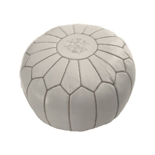 NuLOOM NUSAPOU40 NuLOOM Living Leather Moroccan Pouf Ottoman Living Gorgeous Nuloom Moroccan Pouf