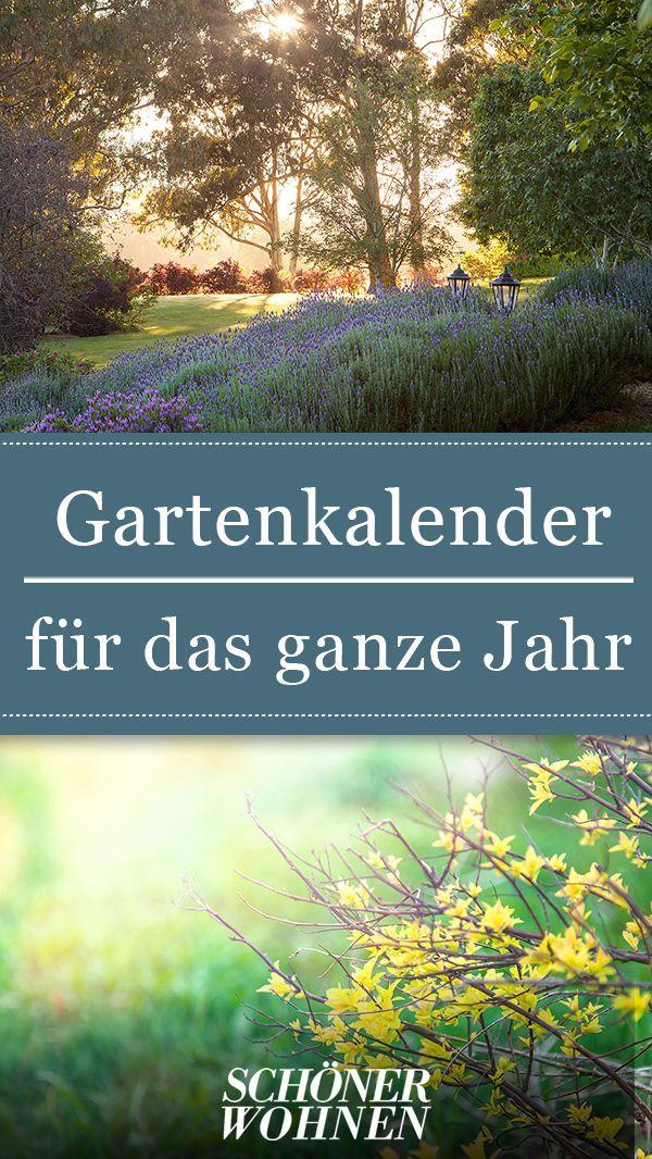 Der große SCHÖNER WOHNEN-Gartenkalender. #Garten #gestalten ...