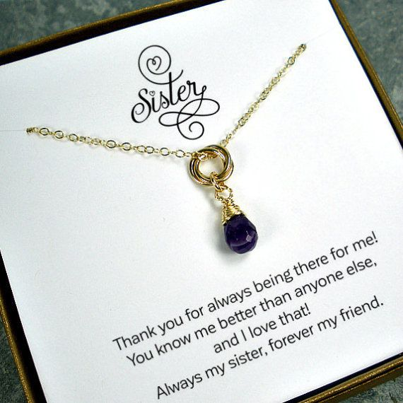 unique gifts for sisters sister gift sister necklace sister